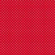 Spot by Makower UK - 5372 - White Spots on Bright Red - 830_R - Cotton Fabric